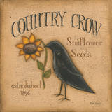 Country Crow Posters by Kim Lewis