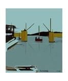 The Drawbridge Number 13 Photographic Print by Diane Strain
