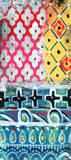 Pattern Painting VI Kunstdrucke von Linda Woods