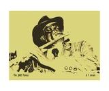 The JAZZ Flutist Photographic Print by Diane Strain
