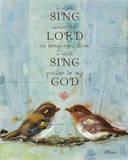 I Will Sing Prints by Ninalee Irani