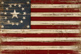 American Flag Print by Jennifer Pugh