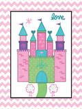 Princess Castle Posters by Jo Moulton