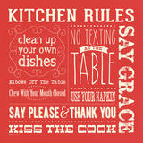 Kitchen Rules Posters by Stephanie Marrott
