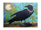 King Crow Messenger of Creation Photographic Print by Blenda Tyvoll