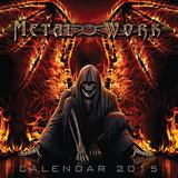 Spiral - Metal 2015 Wall Calendar Calendars