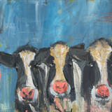 Cow x3 Art by Melissa Lyons