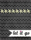 Let It Go Art by Jo Moulton