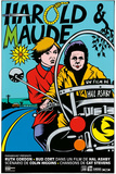 Harold and Maude French Comic Movie Poster Posters