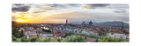 Florence Sunset Panorama, Tuscany, Italy Photographic Print by George Oze