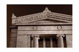 Field Museum of Chicago BW Photographic Print by Steve Gadomski