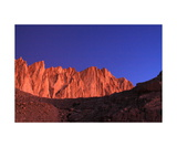 Mount Whitney From Trail Camp At Sunrise Photographic Print by Ronald A Dahlquist