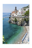 Beach at the Amalfi Coast, Amalfi, Italy Photographic Print by George Oze
