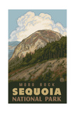 Moro Rock Pal 1232 Photographic Print by Paul A Lanquist