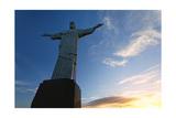 Christ of Corcovado, Rio de Janeiro, Brazil Photographic Print by George Oze
