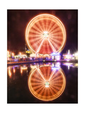 Ferris Wheeel Reflections, Luzern, Switzerland Photographic Print by George Oze