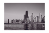 Chicago Morning BW Photographic Print by Steve Gadomski