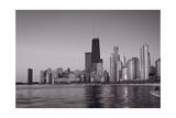 Chicago Morning BW Photographic Print by Steve Gadomski