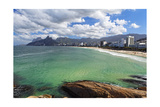 Coastline at Ipanema Photographic Print by George Oze
