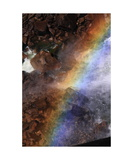 Rainbow In Spray Below Vernal Fall, Yosemite Np Photographic Print by Ronald A Dahlquist
