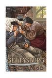 Gettysburg Nurse Photographic Print by Paul A Lanquist