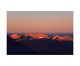 Kaweah Peaks At Sunrise From Summit Of Mt Whitney Photographic Print by Ronald A Dahlquist