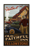 Old Faithful Inn Yellowstone National Park Photographic Print by Paul A Lanquist