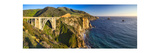 Big Sur Panorama, Bixby Creek Bridge, California Photographic Print by George Oze