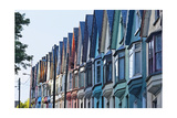 House Facades, Cobh City, Ireland Photographic Print by George Oze