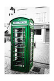 Phone Booth, Kinsale, Ireland Photographic Print by George Oze
