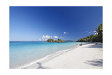 White Sand Caribbean Beach Photographic Print by George Oze