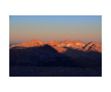 Kaweah Peaks At Sunrise From Mt Whitney Summit Photographic Print by Ronald A Dahlquist