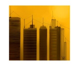 Talking Towers 2 Photographic Print by Diane Strain