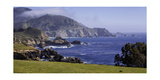 Big Sur Panorama at Rocky Creek, California Photographic Print by George Oze