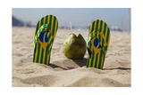 Relax it is Copacabana Photographic Print by George Oze