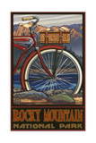 Rocky Mountain National Park Fat Tire Bike Pal 511 Photographic Print by Paul A Lanquist