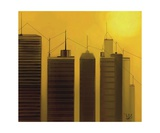 Talking Towers 7 Photographic Print by Diane Strain