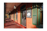Entrance of the Union Hotel, Flamington, NJ Photographic Print by George Oze