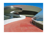Contemporary Art Museum, Niteroi, Brazil Photographic Print by George Oze