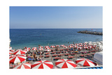 Italian Beach Life, Amalfi Coast Photographic Print by George Oze