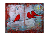 Art Bird Print Let it Be Photographic Print by Blenda Tyvoll