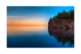Mouth Of The Baptism River Minnesota Photographic Print by Steve Gadomski