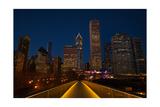 Chicago Lights Photographic Print by Steve Gadomski