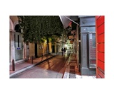Evening Stroll in Athens Greece Photographic Print by Diane Strain