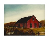 Red Barn Number 1 Photographic Print by Diane Strain
