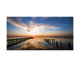 Long Beach Island, NJ Sunset Photographic Print by Annmarie Young