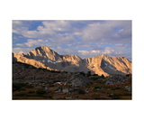 Giraud Peak, Morning In Dusy Basin Photographic Print by Ronald A Dahlquist