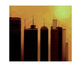 Talking Towers 9 Photographic Print by Diane Strain