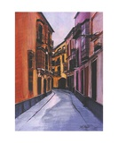 A Street in Seville Spain Number One Photographic Print by Diane Strain
