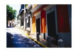 Calle Del Sol, Old San Juan; Puerto Rico Photographic Print by George Oze